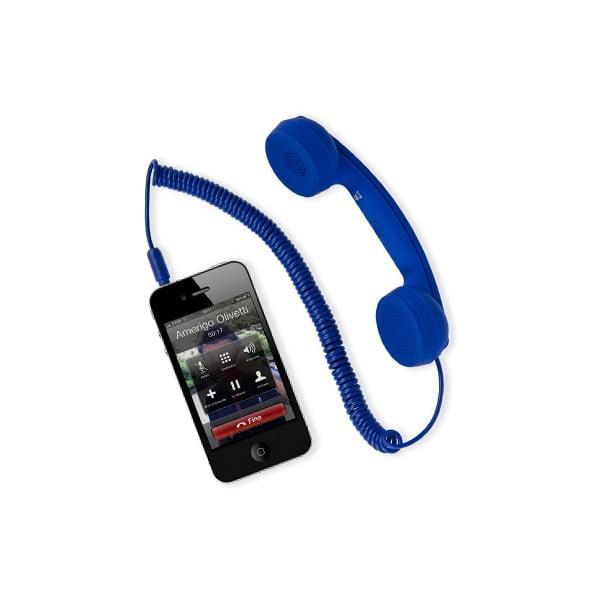 Externí sluchátko hi-Ring mini, modré