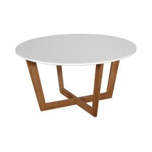 Bílý konferenční stolek Dřevotvar Ontur31