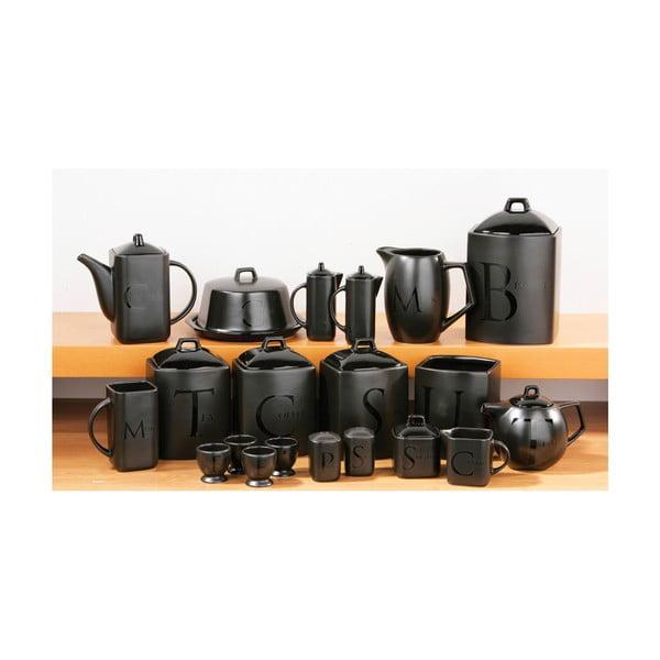 Sada 2 černých džbánků na olej a ocet Premier Housewares Deep