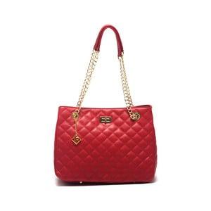 Kožená kabelka Isabella Rhea 2055 Rosso