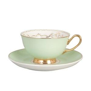 Porcelánový šálek s podšálkem Clayre & Eef Lily, 200 ml