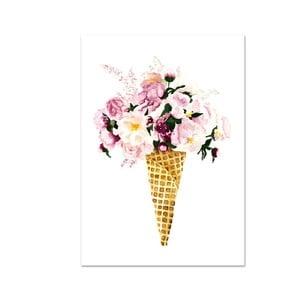 Poster Leo La Douce Flower Cone, 29,7 x 42 cm