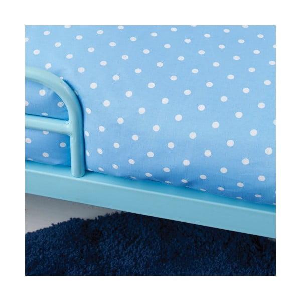 Dětská postel s matrací a povlečením Bundle, modrá