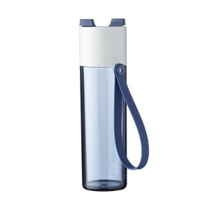 Tmavě modrá lahev na vodu Rosti Mepal Justwater,500ml