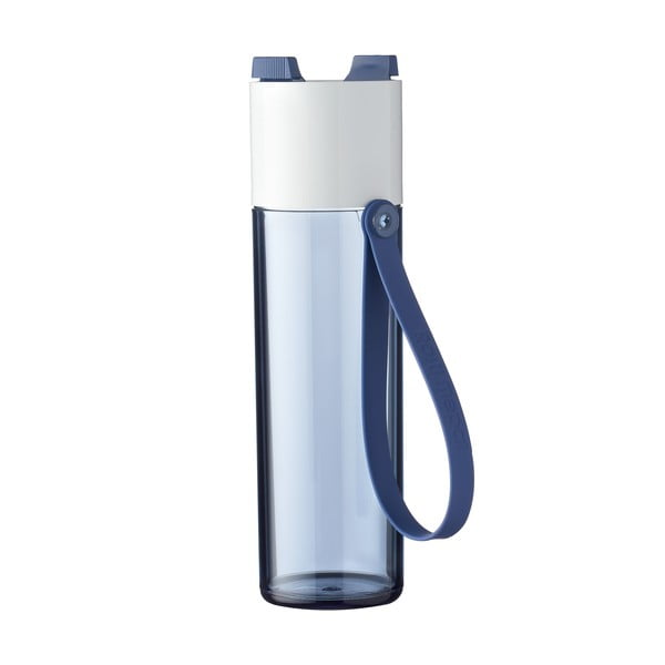 Modrá fľaša na vodu Rosti Mepal Justwater, 500 ml