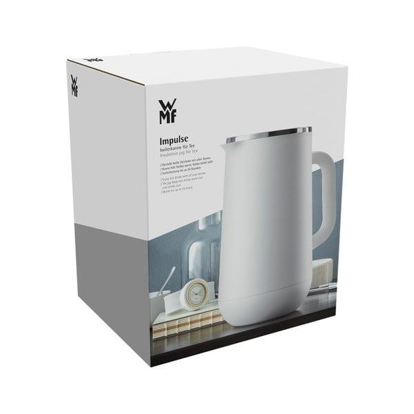Termos din oțel inoxidabil v bílé barvě WMF Cromargan® Impulse Plus, 1 l