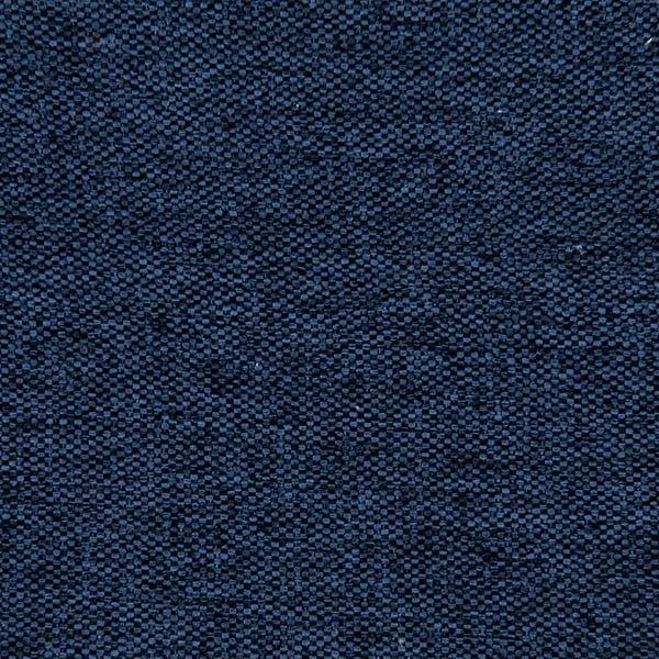 Modrá postel s černými nohami Vivonita Kent,160x200cm