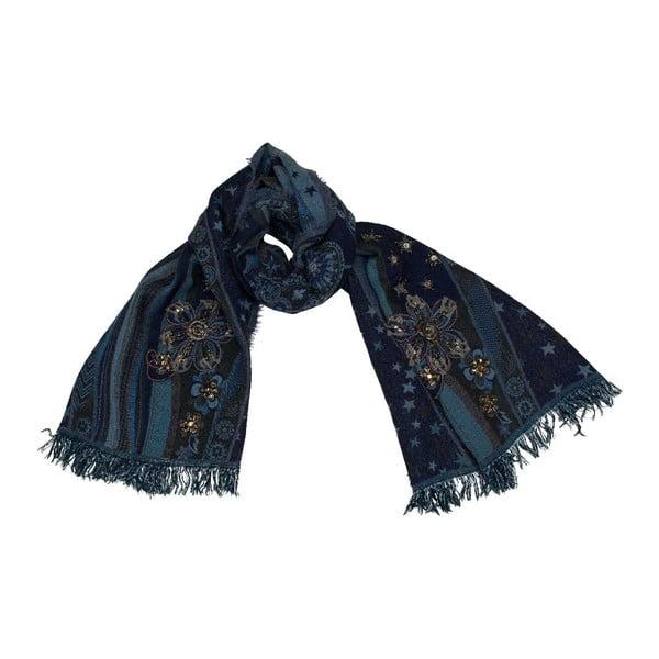 Vlněný šátek Shirin Sehan - Stella Ocean