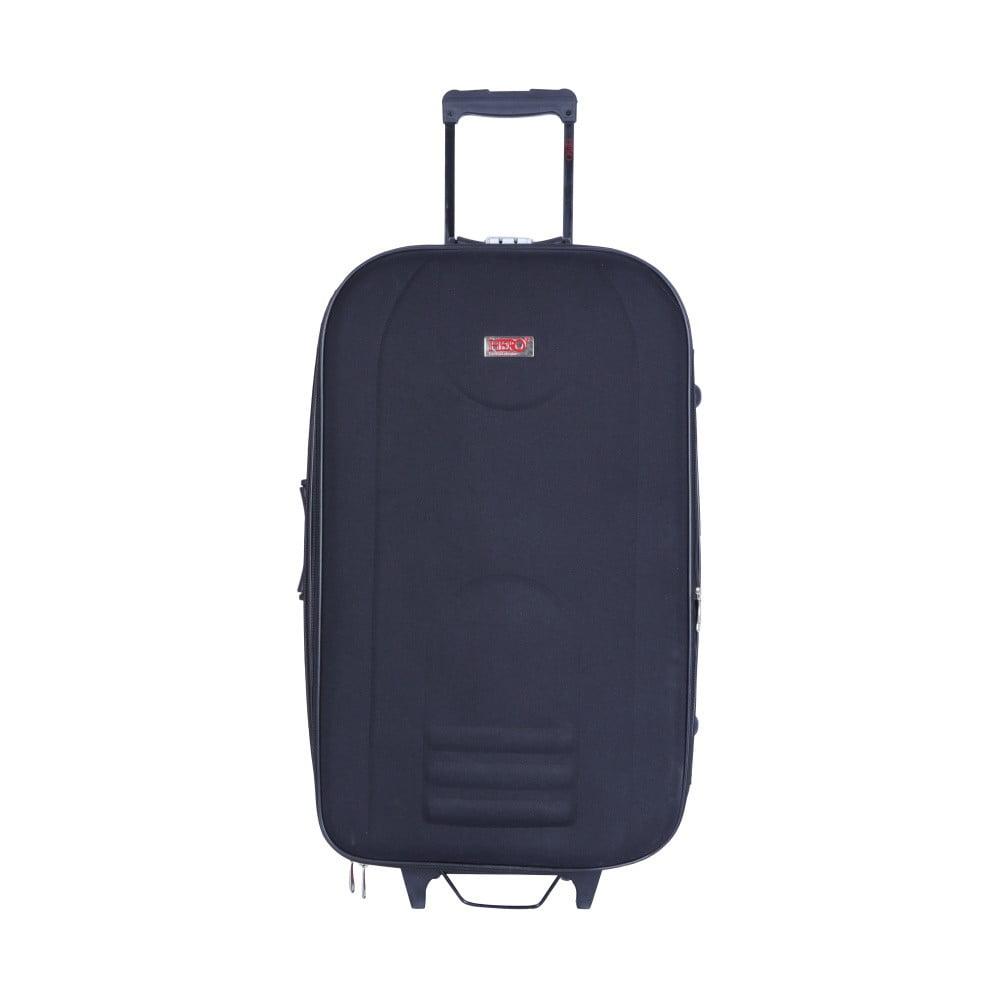 Černý kufr na kolečkách Hero Airplane, 62 l