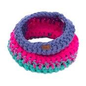 Eșarfă rotundă tricotată manual DOKE Anie