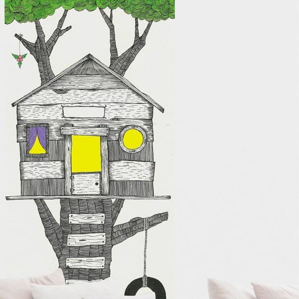 Samolepka Tree House, 110x190 cm