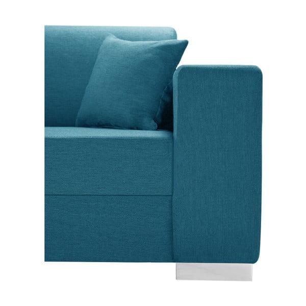 Světlá tyrkysová sedačka Interieur De Famille Paris Perle, levý roh
