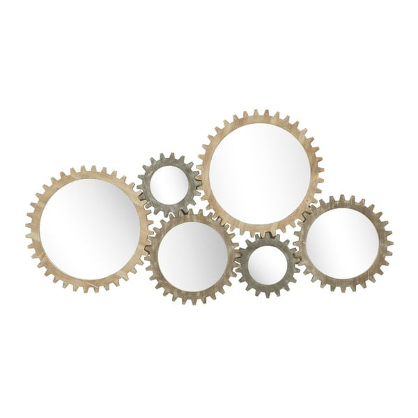 Nástenné zrkadlo Mauro Ferretti Ingranaggio