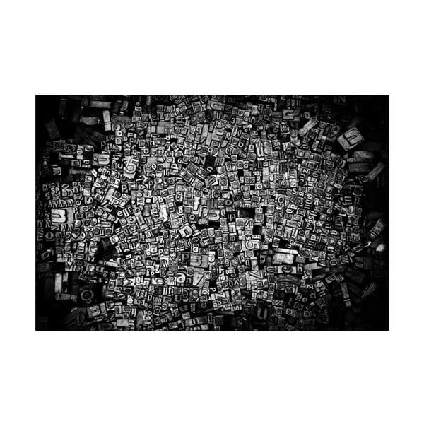 Fotoobraz Litery, 90x60 cm