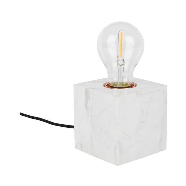 Bílá mramorová stolní lampa Zuiver Bolch