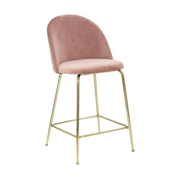 Sada 2 ružových barových stoličiek Mauro Ferretti Lu×ury