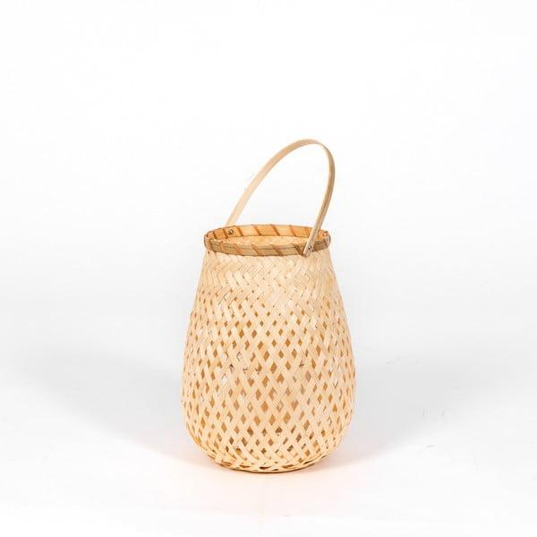 Bambusová lucerna Compactor Bamboo Lantern, ⌀ 18 cm