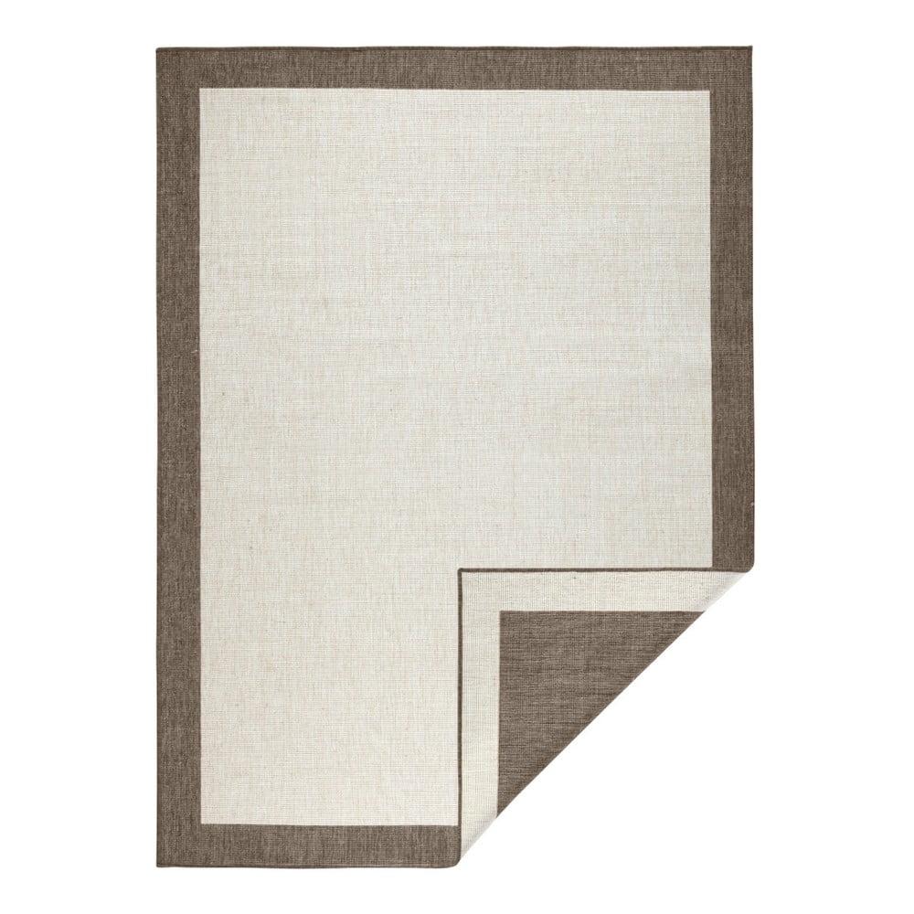 Světle hnědý oboustranný koberec Bougari Panama, 120x170 cm
