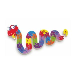 Vzdělávací puzzle Legler ABC Snake