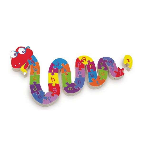 Puzzle educativ Legler ABC Snake