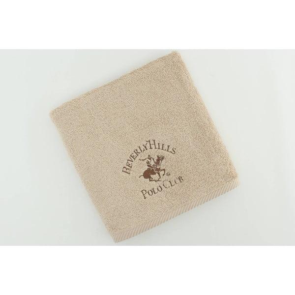 Bavlněný ručník BHPC 50x100 cm, béžový