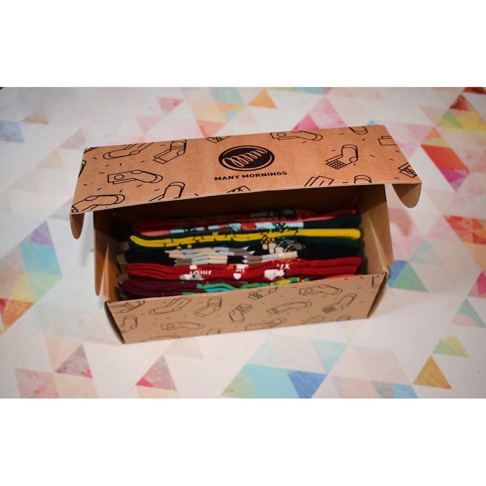 gdzie kupić brak podatku od sprzedaży najnowsza kolekcja Set ponožek Many Mornings Warm Fox, vel. 43–46 | Bonami