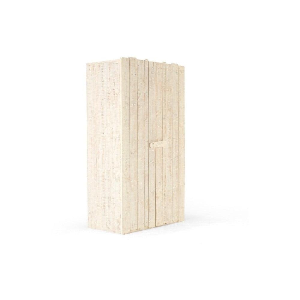 Dětská šatní skříň z brovicového dřeva SOB Desert