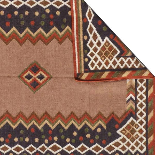 Vlněný koberec Kilim No. 723, 155x240 cm