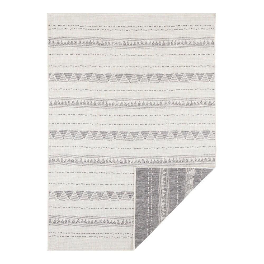 Šedo-krémový venkovní koberec Bougari Bahamas, 200 x 290 cm