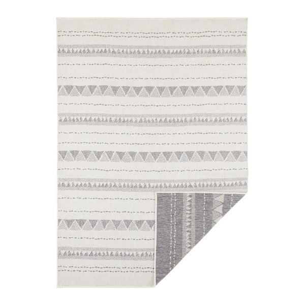 Covor adecvat pentru exterior Bougari Bahamas, 120 x 170 cm, gri-crem