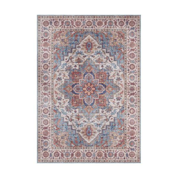 Czerwono-niebieski dywan Nouristan Anthea, 80x150 cm