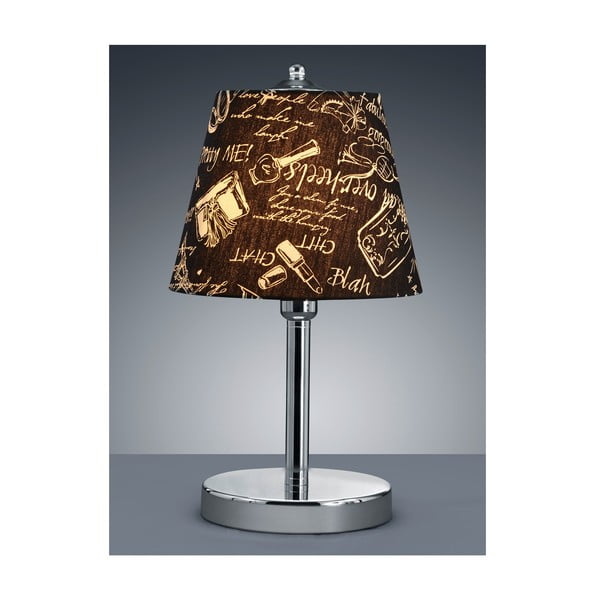 Stolní lampa Serie 3016 Blah, hnědá