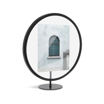 Suport foto Umbra Infinity, 12 x 18 cm, negru imagine