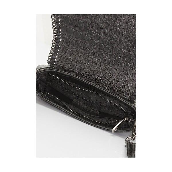 Kožená kabelka Giorgio Costa 15008 Black