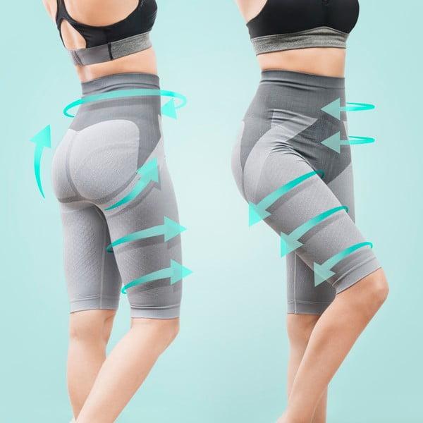 Burtieră cu pantaloni de slăbit InnovaGoods Tourmaline Shorts, mărime XL