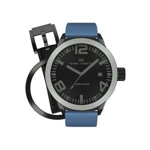 Pánské hodinky Marc Coblen s páskem a kroužkem navíc P45