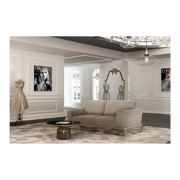 Béžová pohovka pro tři L'Officiel Interiors Kendall
