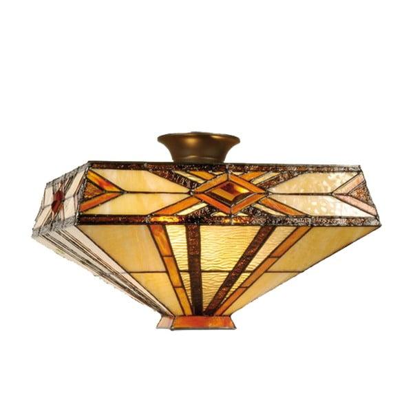 Tiffany stropní světlo Gold