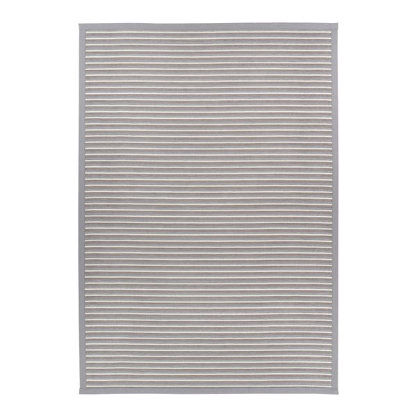 Nehatu Silver világosszürke kétoldalas szőnyeg, 80 x 250 cm - Narma