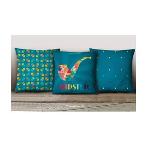 Sada 3 povlaků na polštáře Decorative Cushion Set Leslie
