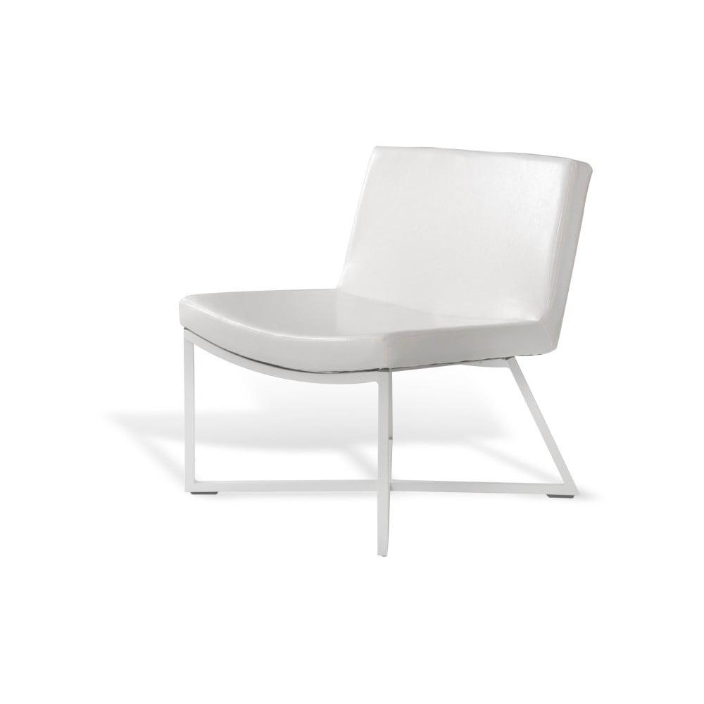 Bílé křeslo Custom Form Zero