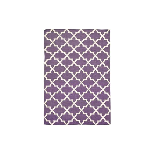 Ručně tkaný koberec Kilim Lila Design, 160x230 cm