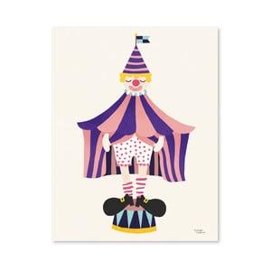 Plakát Michelle Carlslund The Clown, 50x70cm