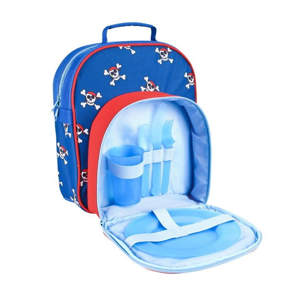 Dětský piknikový batoh s výbavou