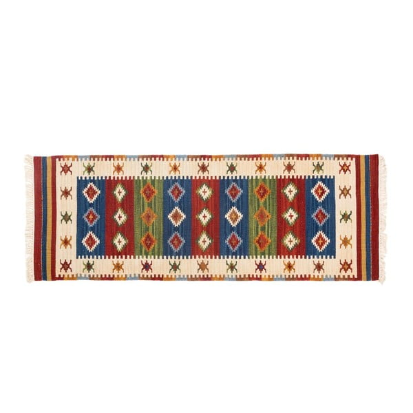 Ručně tkaný koberec Kilim Dalush 308, 180x65 cm