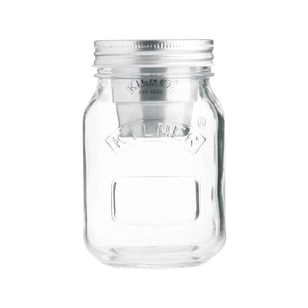 Pojemnik szklany na żywność z miseczką na dip Kilner, 0,5 l
