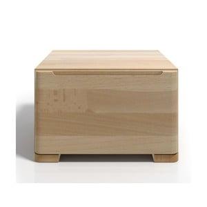 Noční stolek z bukového dřeva se zásuvkou SKANDICA Sparta