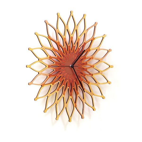 Dřevěné hodiny Fireworks II, 41 cm