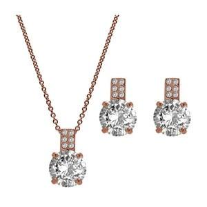 Set náhrdleníku a náušnic s krystaly Swarovski GemSeller