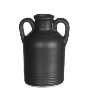 Keramická váza Sil Black, 9x14 cm